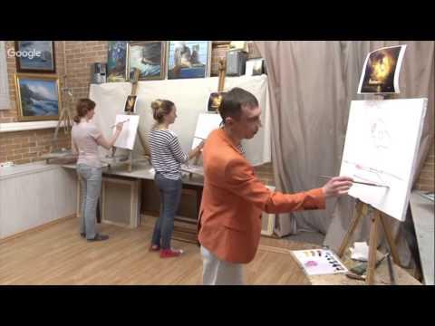 Видео урок: Вязаные цветы - Урок 1 - Роза
