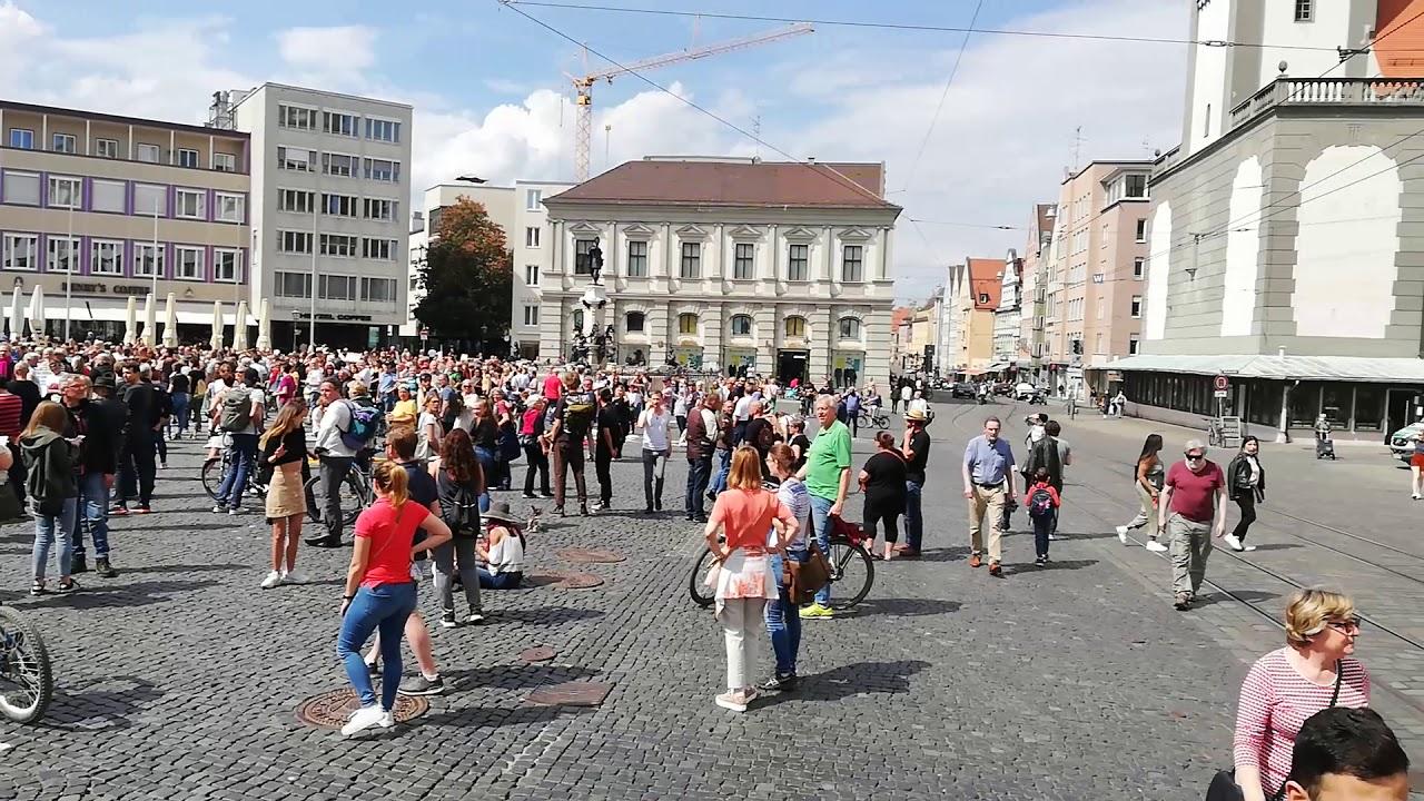 Demo Augsburg Heute