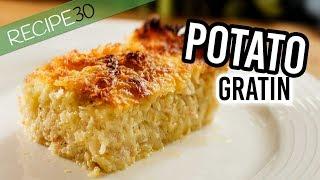 Easy Potato Gratin American Style