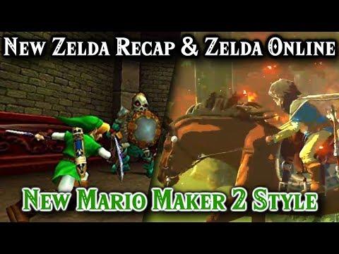 Next New Zelda Game Details, Zelda Online, New Style Mario Maker 2?, Yo Kai Watch, Dragon Ball