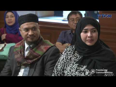 Meeting with Moro National Liberation Front (MNLF) Chairman Nur Misuari 11/28/2016