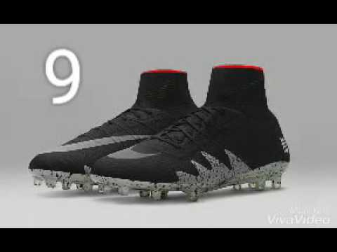 3fbcb4884 Top 10 Football Boots 2017/2018 - YouTube