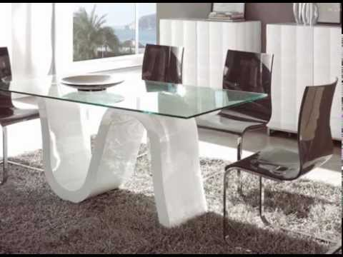 mesas de comedor de alto diseño