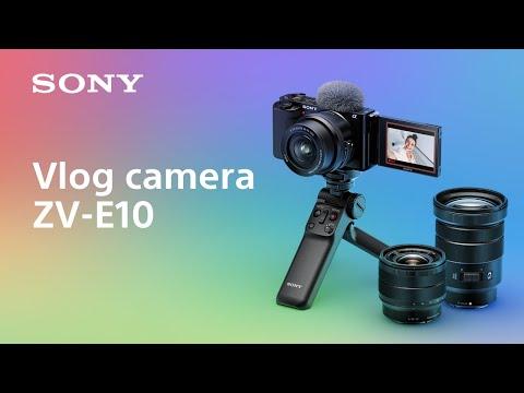 Introducing vlog camera ZV-E10 | Sony | α