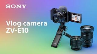 Sony ZV E10 Kit 16-50mm Sony ZVE10 ZVE 10 Kit 16-50 GARANSI RESMI
