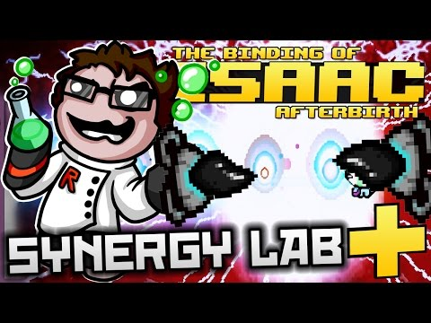 The Binding of Isaac: Afterbirth+ - Synergy Lab: ULTIMATE EN