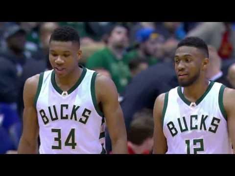 Brooklyn Nets vs Milwaukee Bucks | October 29, 2016 | NBA 2016-17 Season
