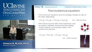 General Chemistry 1B. Lecture 6. Thermodynamics: First Law, Part II