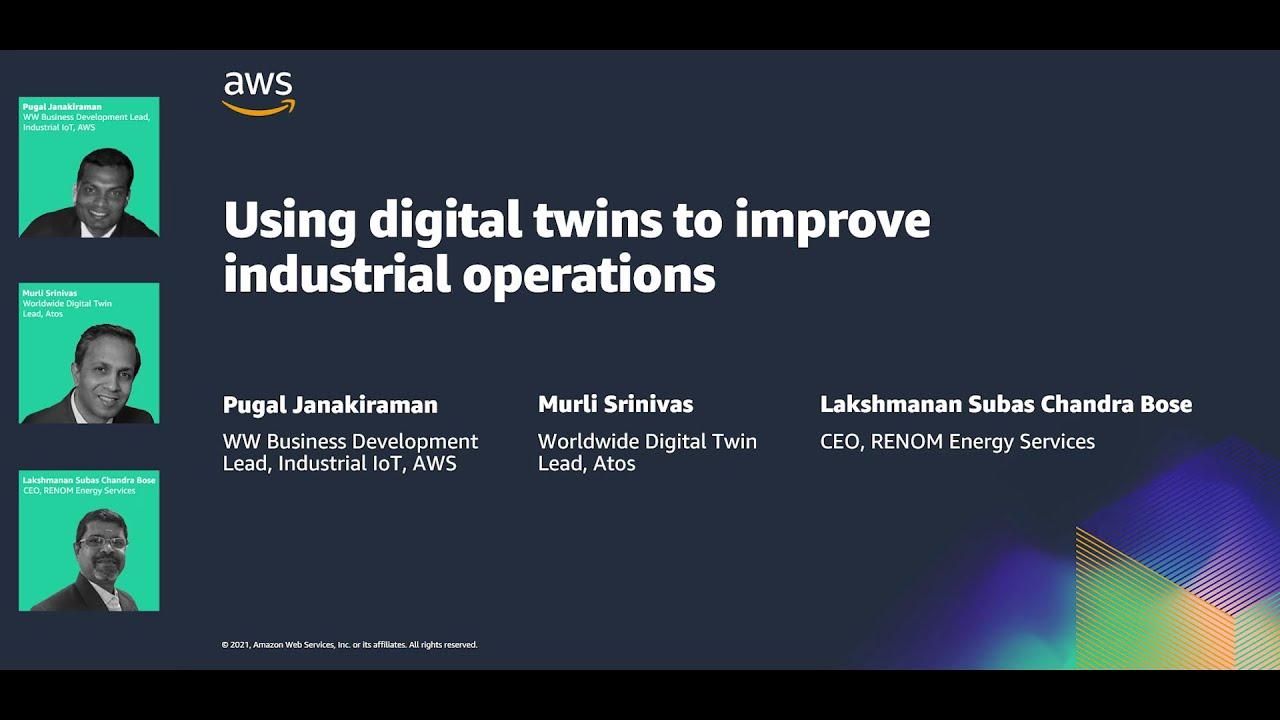 Using Digital Twins to Improve Industrial Operations - Hannover Messe 2021