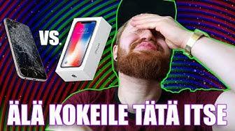Yritetään vaihtaa iPhonen näyttö