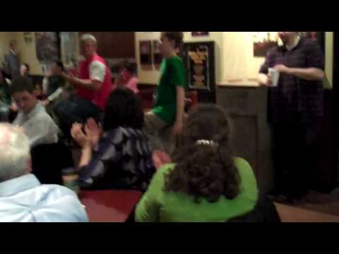 Dancing to Hornpipes at The Music Cafe, Damascus, MD