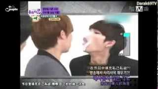Woogyu   Gyuwoo [无限 Couple团]121211 Mnet Wide News 男男cp Infinite圣圭&优贤cut中字