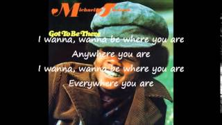 Michael Jackson I wanna be where you are Lyrics