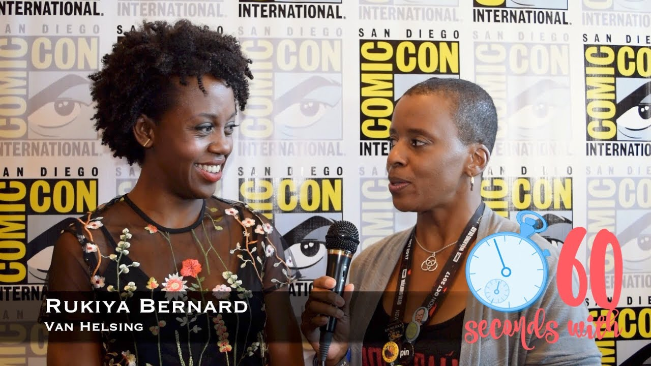 60 Seconds With Van Helsing S Rukiya Bernard Youtube Rukiya bernard (born january 20, 1983) is a canadian actress, producer and interior designer. 60 seconds with van helsing s rukiya bernard