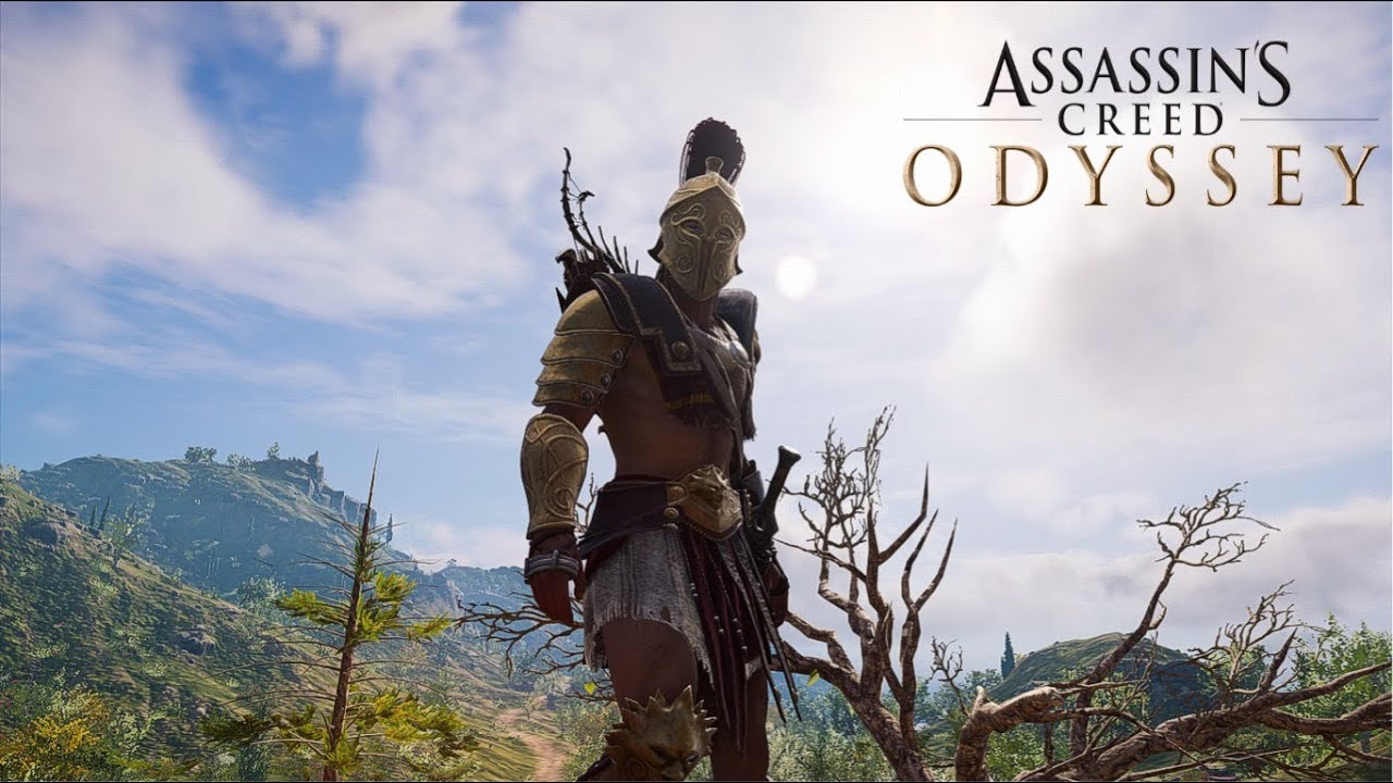 assassins creed odyssey arena armor set