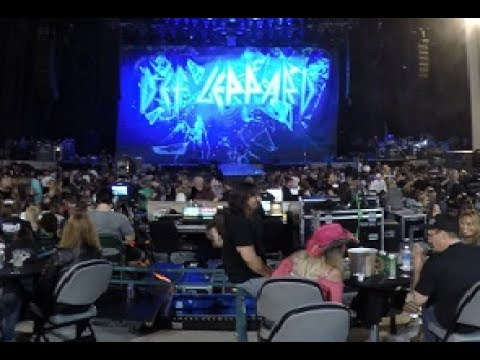 Def Leppard Intro San Diego Firm Mattress Amphitheater