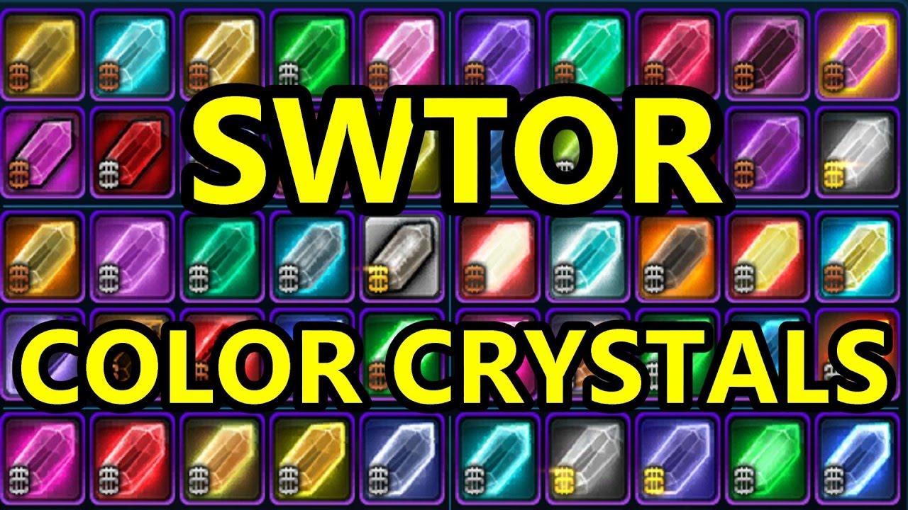 Craft Crystals Swtor