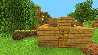 Minecraft Jedno Życie- TAJEMNICZA CHATKA W ŚRODKU LASU!