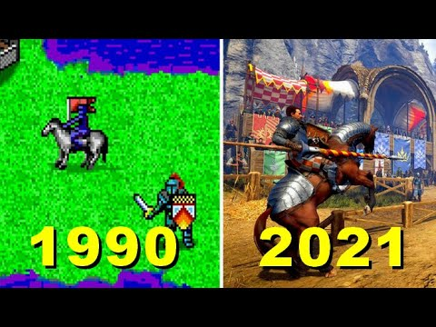 Evolution of  King's Bounty 1990-2021 All games |