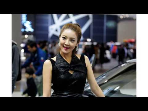 Seoul Motor Racing Girl fashion model beautiful models photo collection helper 1