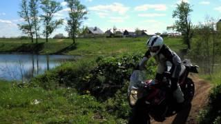 kTM 1090 Adventure и Анастасия Нифонтова