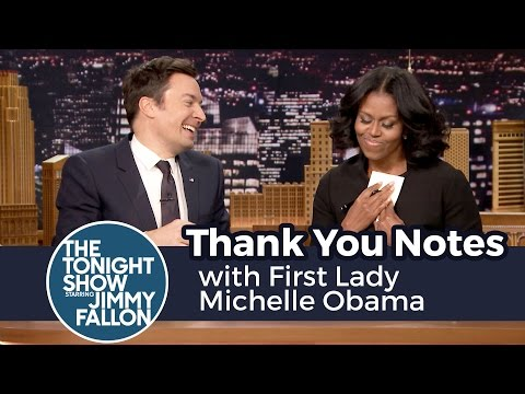 Thumbnail: Thank You Notes with First Lady Michelle Obama