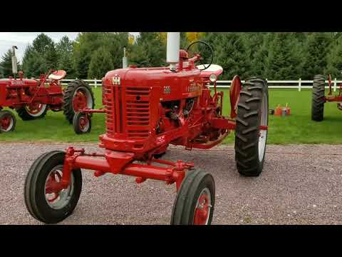 1956 Farmall 300 wide front for sale - YouTube