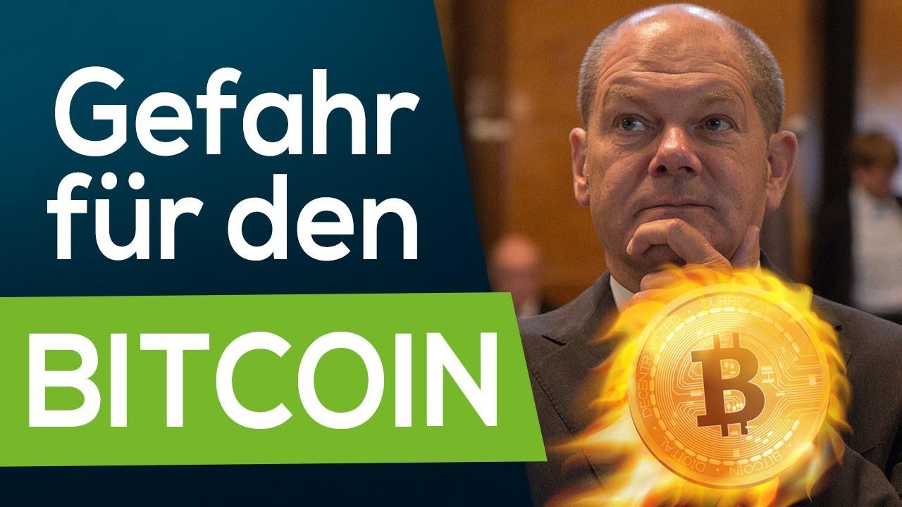 Bitcoin-Verbot? Neuer Plan von Olaf Scholz + EU