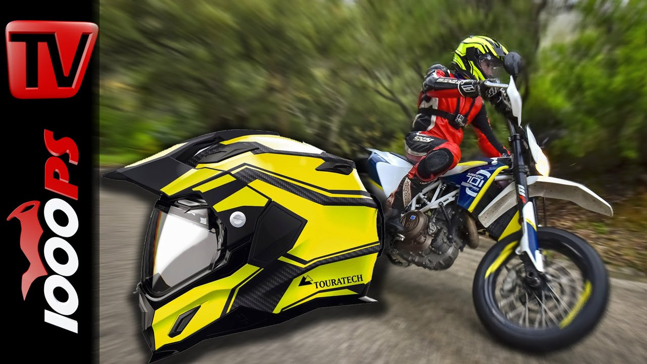 touratech aventuro motorradhelm test 2015 erster eindruck youtube. Black Bedroom Furniture Sets. Home Design Ideas
