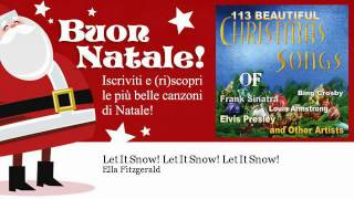 Ella Fitzgerald - Let It Snow! Let It Snow! Let It Snow! - Natale