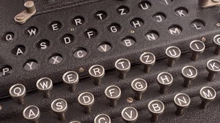 Video demo of the Enigma machine