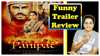 Panipat Trailer Review 2019 | RJ RAUNAK | BOLLYWOOD WITH BAUAA | ARJUN KAPOOR