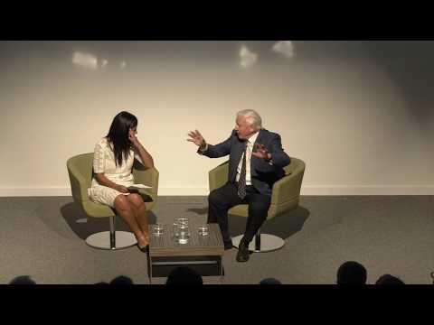Sir David Attenborough in conversation with Liz Bonnin.