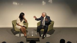Sir David Attenborough in conversation with Liz Bonnin.