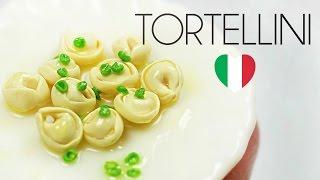 polymer clay Tortellini TUTORIAL | polymer clay food