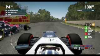 F1 2012 Online League Race PC - PRL - Division 1 - Round 7 - Montreal - No Assists - 50% Distance