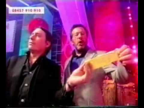 Adrian Edmondson - Fame Academy 2005 - day 11 - Drunken Karaoke