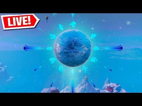 🔴 FORTNITE ICE STORM EVENT & ICE KING'S SPHERE COUNTDOWN! (FORTNITE BATTLE ROYALE) thumbnail