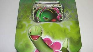 New HG/SS Collectible Pokemon Prime Tins: Meganium