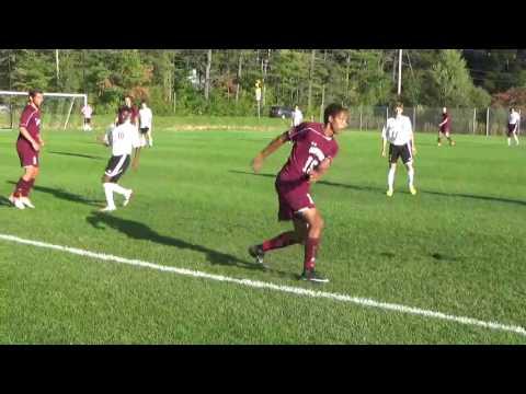 Lebanon NH High School Boys Varsity Soccer v. Goffstown Home 2016