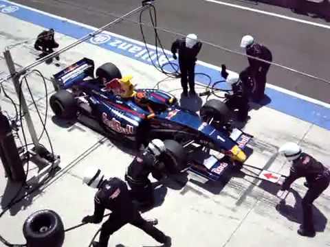 Brendon Hartley' pit stop