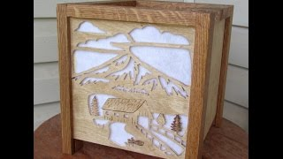 Scroll Saw Shadow Box