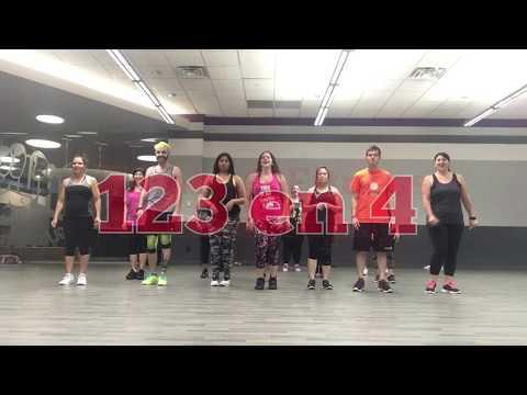 Zumba® Fitness Choreography: 123 en 4 By Don Miguelo Ft. Sensato