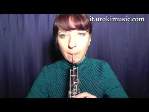 Lezioni di Oboe C#1 S#1 L#4 Melodia Tutorial Spartito Imparare Insegnante Metodi Partiture