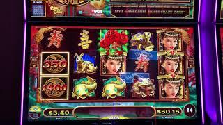 "VGT Slots  ""Crazy Cash""  Sizzling Phoenix  Choctaw Casino, Durant, OK."