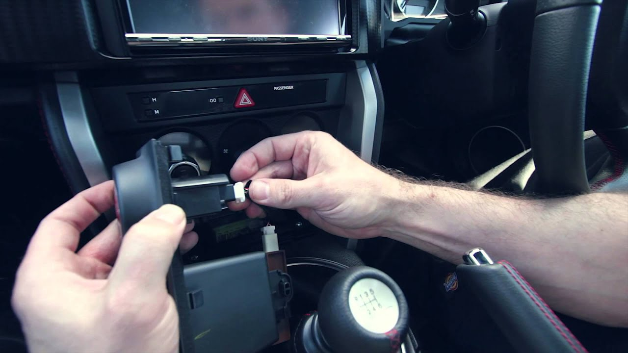 trd push button start  u0026 gear knob installation