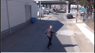 Jason Calacanis is chased by self-flying camera drone; CEO Adam Bry demos