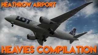 London Heathrow Airport - Big Heavies Compilation 2016
