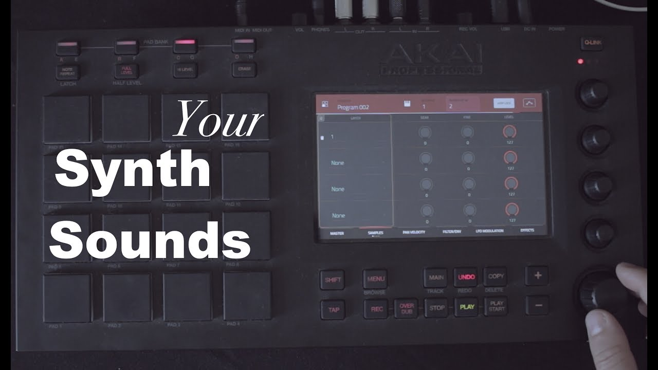 Create your own synth sound - Wave cycle - Mpc tutorial