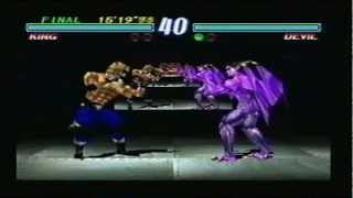 Tekken 2 - King Gameplay